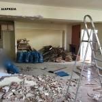 Ανακαίνιση σπιτιού Καστέλα (Πειραιάς) - Κατα την διάρκεια